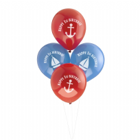 Ahoy There 1st Birthday Balloons (8)